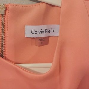 Calvin Klein Women's Scuba Crepe Sleeveless Dress